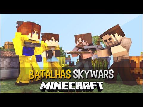 Minecraft: Breaking Bad Vs The Walking Dead - Batalhas SkyWars