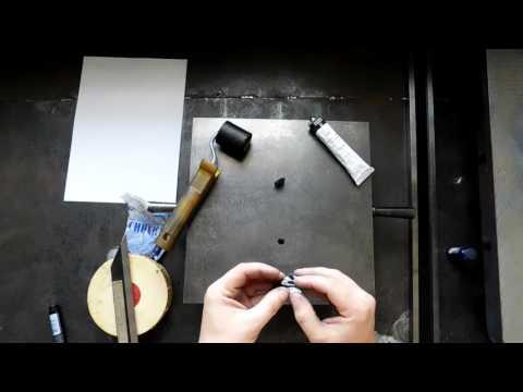 Краски для шабрения, виды, нанесение красок, контроль толщины красочного слоя.