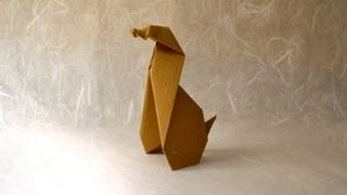 Origami Dog Instructions: Www.origami-fun.com