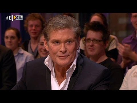 David Hasselhoff wil talkshow in Nederland - RTL LATE NIGHT
