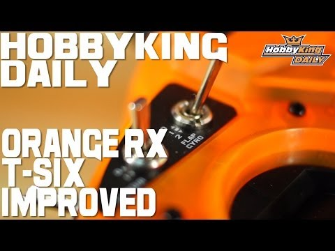 HobbyKing Daily - Orange RX T-SIX Transmitter IMPROVED