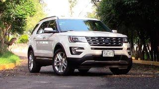 Ford Explorer 2016 a prueba | Autocosmos