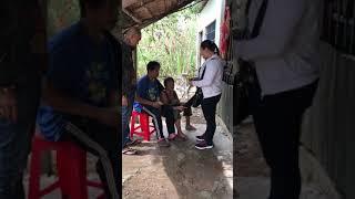 Chuyến thăm trao tặng tiền cho 2 mẹ con bị bệnh ở ấp Bình Hàng Tây - Cao Lãnh - Đồng Tháp