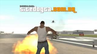 Mod cleo 'caçador Hunter' para GTA San Andreas