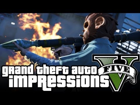 Grand Theft Auto 5 Gameplay IMPRESSIONS! Adam Sessler, Max Scoville, and Tara Long's First Look