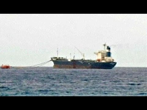 US Navy tracks down hijacked Libyan oil tanker