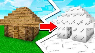 WHY YOU NEVER REMOVE MINECRAFT TEXTURES...