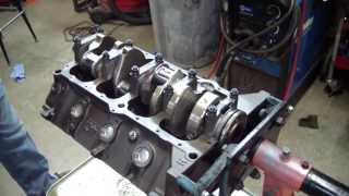 AMC 401 Crankshaft Installation