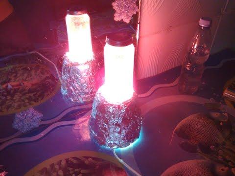 Лава лампа как сделать самому