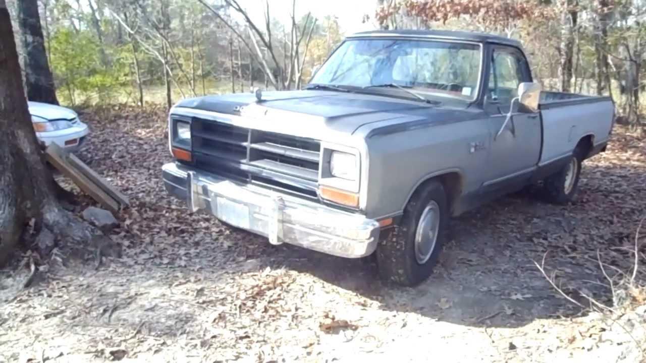 1986 Dodge Ram Truck - Sold