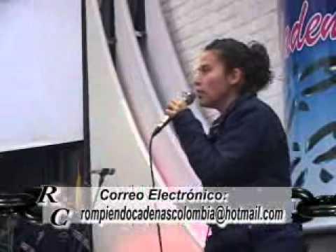 BETHESDA MARCELA GOMEZ EN ROMPIENDO CADENAS PARTE 1.wmv
