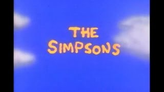 The Simpsons Opening Credits And Theme Song