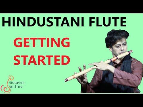 Hindustani Flute :  Beginner Tutorial