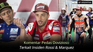 Download video Komentar Pedas Dovizioso Terkait Insiden Rossi Dan Marquez