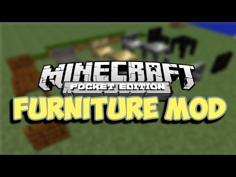 [0.8.1] Furniture in Minecraft Pocket Edition! - Pocket Furniture Script Mod