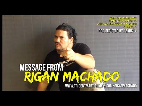 Rigan Machado's Seminar Message for Pat Tray's Trident Academy 23AUG14 - 08/13/2014