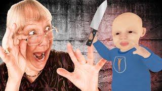 Possessed Toddler Vs Deranged Granny  - This Family Has MAJOR ISSUES - Granny Simulator