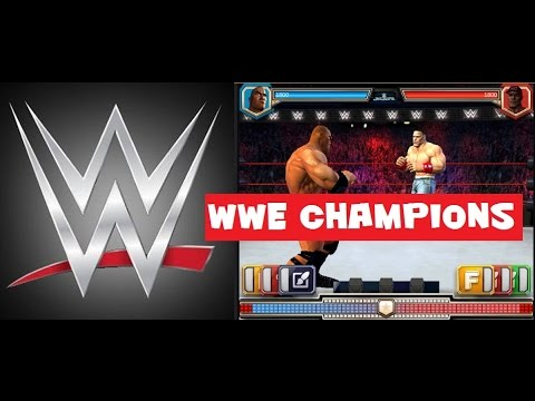 WWE Champions Mobile Tablet iphone ipad Game Review First Look
