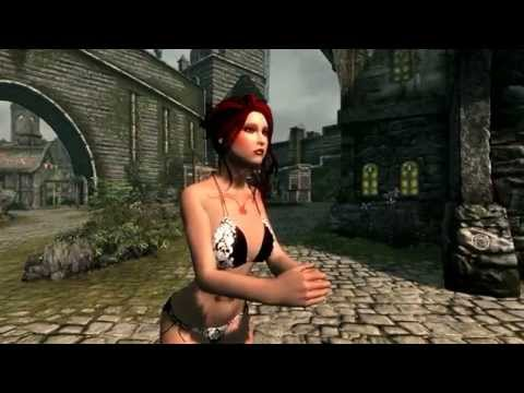 Skyrim Sexy Swimsuit and bikinis HD