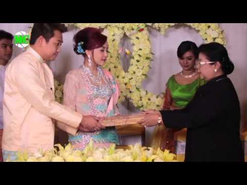Engagement Reception Of Wyne Su Khine Thein & Okkar Myint Kyu video