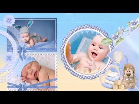 Шаблоны слайд-шоу «Наш сыночек»