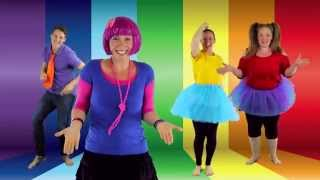 Awesome Dance Song  for Kids!! | Balance On One Foot | Featuring Bounce Patrol | By Debbie Doo