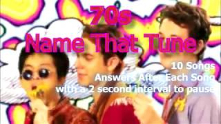 Name That Tune - 70s - Episode 1