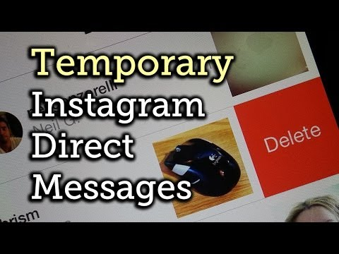 Delete Photos & Videos You Sent To Someone Using Instagram Direct - Android + Ios [how-to] video