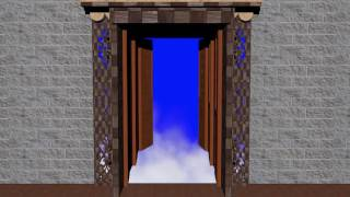 Wedding Background Video Effects HD 1080p -3 Doors Open Animation Free Download