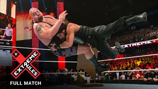 FULL MATCH - Roman Reigns vs. Big Show – Last Man Standing Match: WWE Extreme Rules 2015
