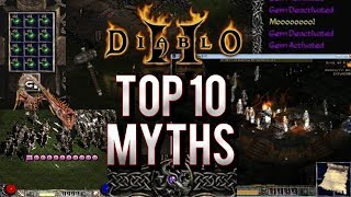 Top 10 Myths of Diablo 2