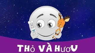 Thỏ và hươu - Chuyện thiếu nhi - Chuyện cổ tích - Chuyện kể đêm khuya - Phim hoạt hình