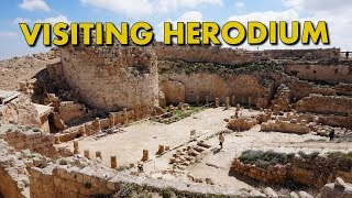 VISITING HERODIUM - Ruins of King Herod's Palace in Israel