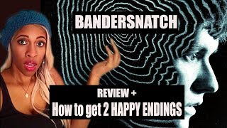 Black Mirror: Bandersnatch - How to get the HAPPY ENDINGS! + Review
