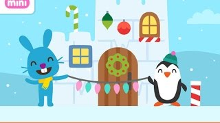 Sago Mini Holiday Trucks and Diggers - iPad app demo for kids - Ellie