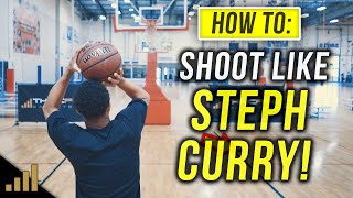 How to: Shoot A Basketball Quicker Like Steph Curry!