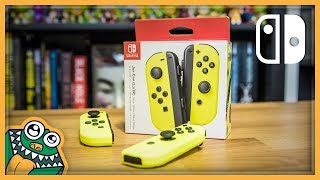 Nintendo Neon Yellow Joy-Cons - Unboxing and Overview