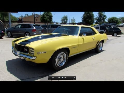 1969 Chevrolet Camaro Z/28 RS Start Up. Exhaust. and In Depth Review