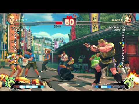 Iyo [Ibuki] vs robin01 [Abel] SSF4 Japanese Online Ranked Matches - TRUE-HD