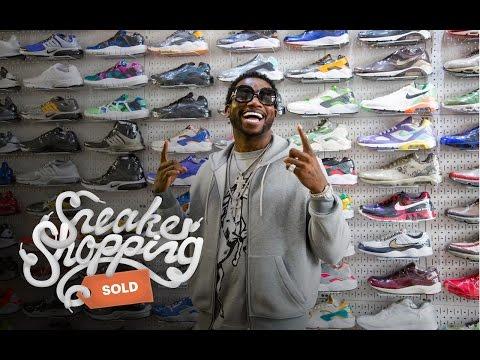 Gucci Mane na zakupach w Sneakershopie