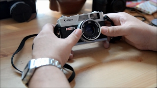 Canon Canonet QL17 GIII Review, How To Use, and Load Film