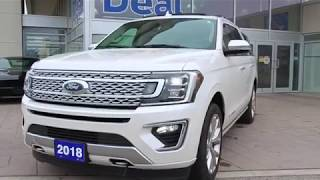 Pre-Owned 2018 Ford Expedition Platinum Max For Sale - Donway Ford