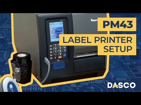 Dasco presents: Intermec PM43 label printer