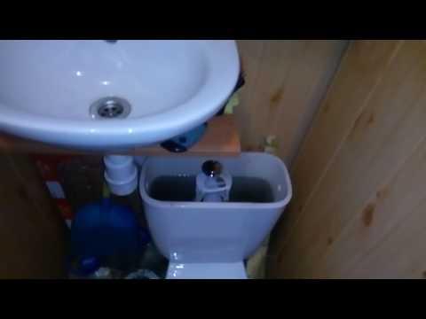 Туалет на даче в доме. где нет водопровода