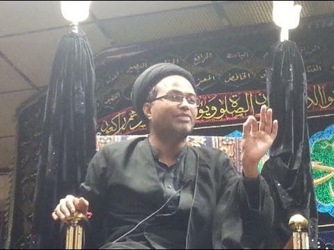 Maulana Qambar Ali Rizvi 28th Muharram Birmingham (UK)