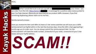 Exposed!! Fake Fishing Gear Reviews - Email Proof!!!