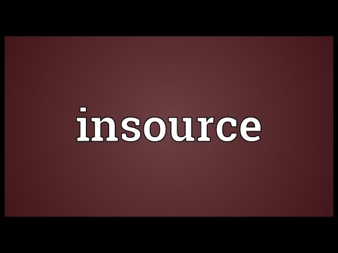 Header of Insource