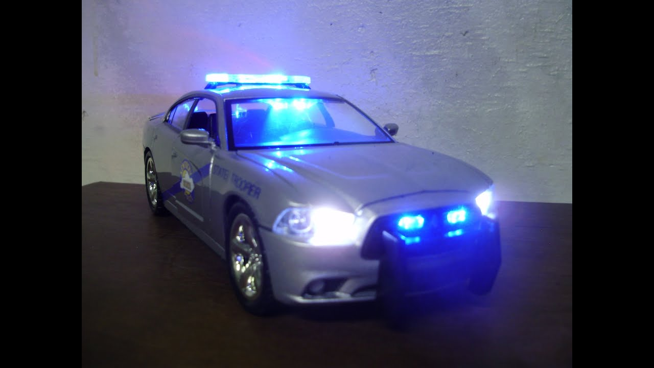 Custom 1 24 Kentucky State Police Dodge Charger W Working