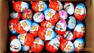 New Super Kinder Joy Surprise Eggs for Boys & Girls Unboxing Play Doh Baby Toy Learn Colors for Kids