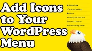How to Add Icons to a Wordpress Menu